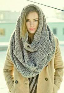 шарф труба фото