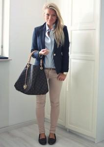 брюки бежевого цвета