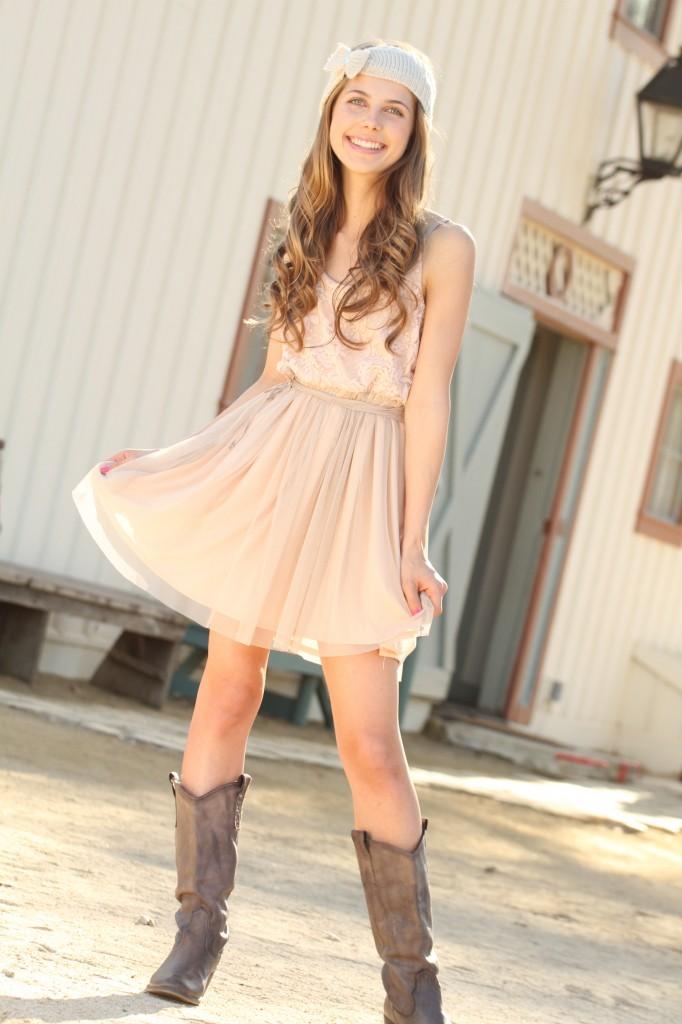 С чем одеть легкое платье