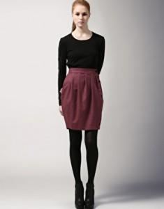 юбка из шерсти фото
