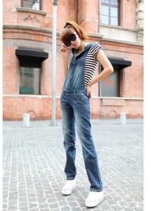комбинезон из джинса фото