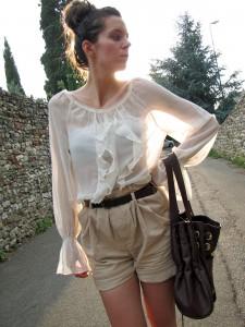 прозрачная блузка фото