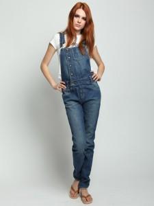 джинсовый комбинезон фото