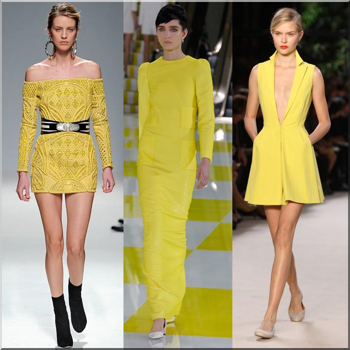 Модные цвета весна 2014