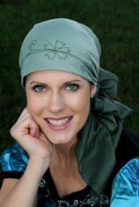 шарф на голове фото