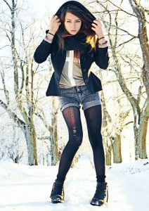 зимние шорты  фото