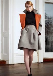 шерстяная юбка фото