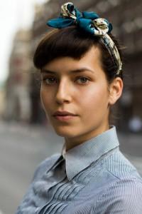 Как носить шарф на голове фото
