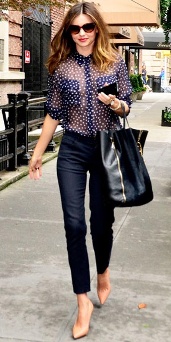 Блузка с чем носить фото