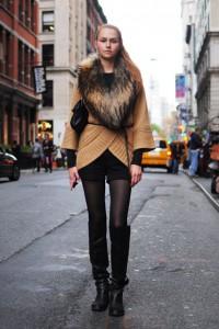 С чем носить зимние шорты
