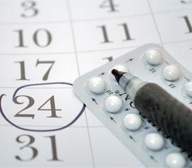 вызвать менструационный цикл таблетки