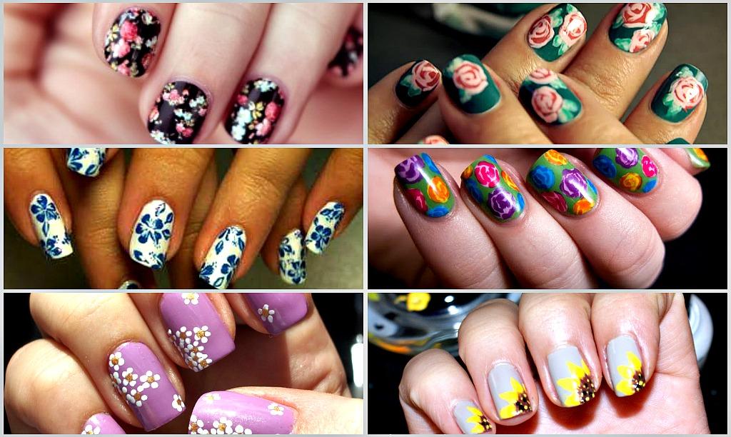 Фото красивых ногтей на руках с рисунком