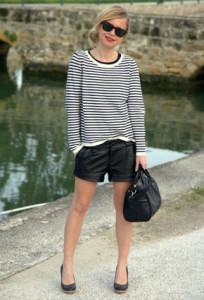 шорты черного цвета