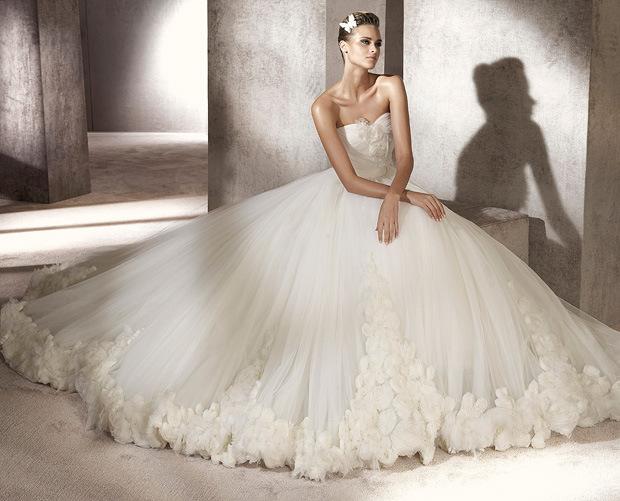 Самое красивое свадебное платье в