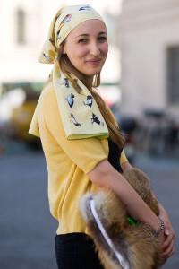 Как одевать платок на голову фото