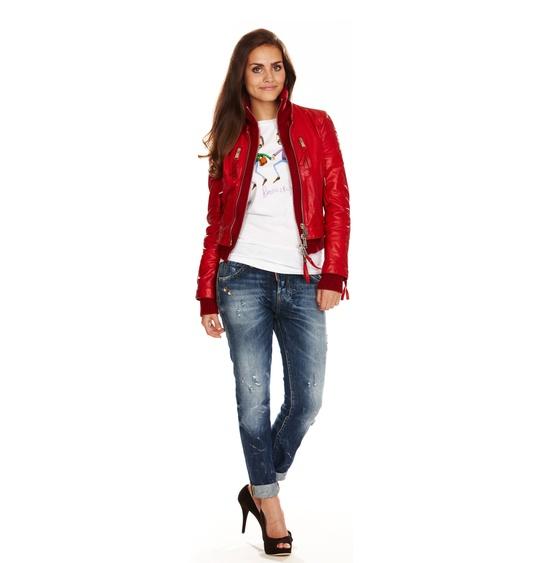 Куртка с цветами с чем носить