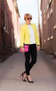 Желтый пиджак