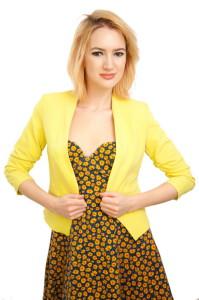 Желтый пиджак фото