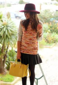 с чем носить сумку желтого цвета фото