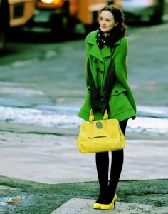 сумка желтого цвета