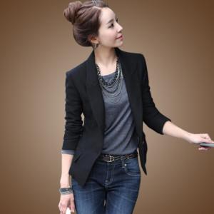 с чем носить пиджак черного цвета фото