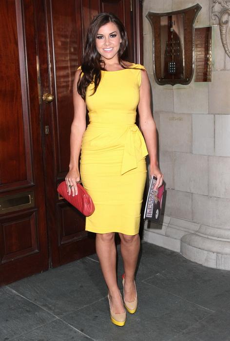 Образы в желтом платье фото