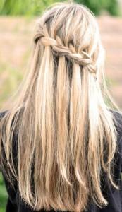 Заплетаем косу-водопад