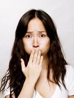 Во время беременности во рту кислота