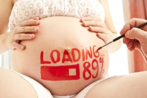 опустился живот вторая беременность