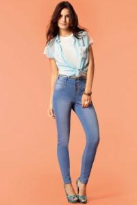 с чем носить джинсы с высокой талией фото