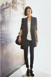 длинный пиджак фото