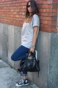 как носить конверсы с джинсами фото