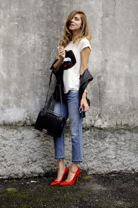 короткие джинсы фото