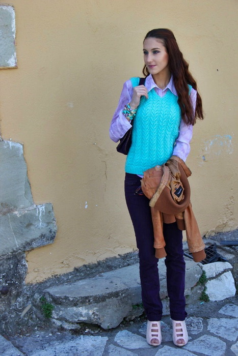 Light purple skinny jeans pictures