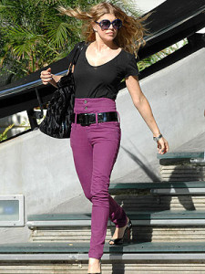 джинсы с завышенной талией
