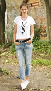 какие кеды подходят к джинсам фото