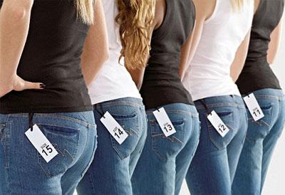Как определить размер джинсов