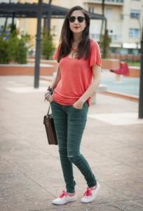 кеды с джинсами