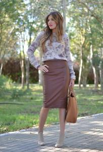 Какую обувь носить с юбкой-карандаш фото