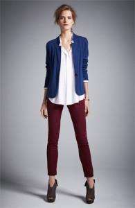 С чем носить зауженные брюки