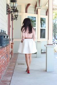 расклешеная юбка фото
