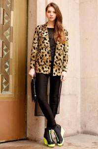 леопардовый пиджак фото