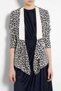 C чем носить леопардовый пиджак фото