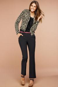 C чем носить леопардовый пиджак