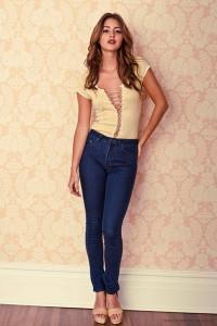 джинсы с завышенной талией фото