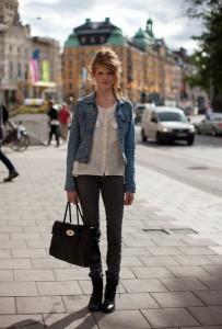 джинсовый жакет