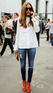 белоснежная рубашка фото