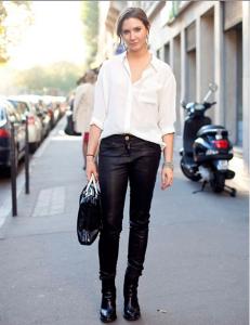 белая рубашка фото
