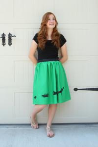 с чем носить юбку-татьянку