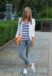 кроссовки с джинсами фото